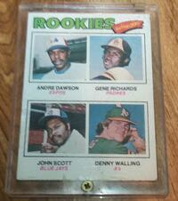 Rookies outfielders cards Charles Town, 25414