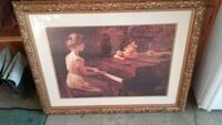 Above the mantle picture frame great condition  Winfield, 63389