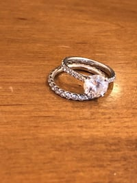 Diamond engagement ring with infinity band  Mc Lean, 22102