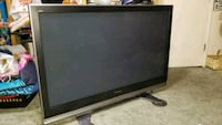 black and gray flat screen TV 2378 mi