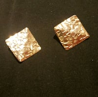 Vintage 80s gold plated fashion earrings Toronto, M3M 1C6