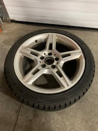 Tires and rims.  Used on 2014 Mercedes Benz CLA250 Markham, L3R 4C1