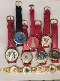 Christmas Watches lot in good condition need new batteries All for $35 Raleigh, 27610