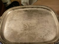 Vintage Silver Plated Serving Tray Kansas City, 64129