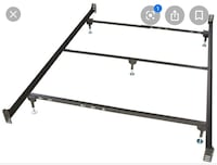 Queen siZe metal bed frame New Orleans, 70119