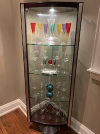 Stunning glass and wood cabinet-URGENT priced to sell! Toronto, M4G 3Y9