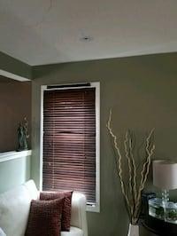 brown  window blinds  Mississauga, L5B 4G7