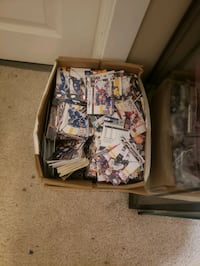 2 boxes of hockey cards Coquitlam, V3K 2H2