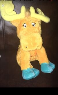 """Thidwick big hearted moose 11"""" Plush Bowie, 20715"""