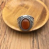New Stainless Steel  Ring Size 8 Calgary