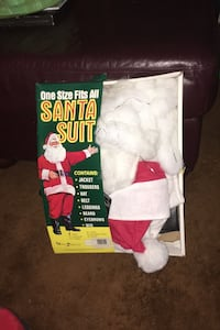 One size fits all Santa suit