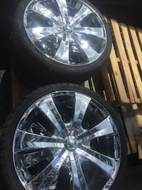 Universal Chrome Rims (DEVTINO) & Tires Valrico, 33596