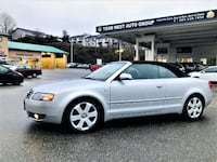 Team West Auto Group 2006 Audi A4 1.8T Cabriolet Convertible Local No accident Low km a4 Coquitlam
