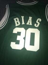 LIN BIAS Mitchell & Ness Throwback Jersey, Rare! Temple Hills, 20748