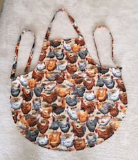Rooster/Hen Cooking Apron/Handmade/New Gaithersburg