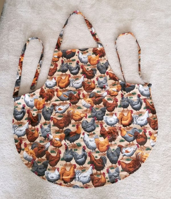 Rooster/Hen Cooking Apron/Handmade/New a259f61b-4581-498e-9fc1-9027ea3f20f6