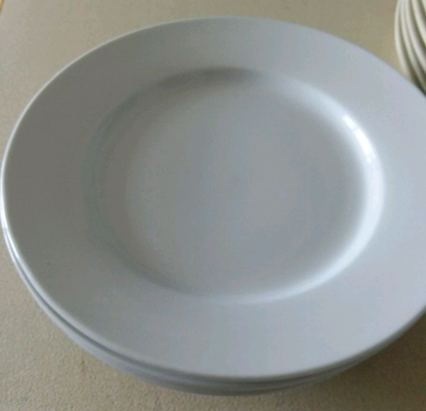 4pcs/ Set Great White Traditional Dinner Plate