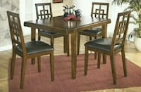 Ashley Dining table with 4 chairs Mississauga