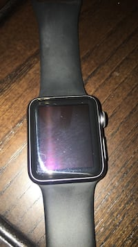 Space gray apple watch 1