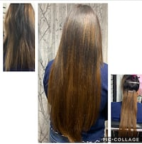 Hair extensions tap in or microbeads and Nail tip and Nano beads Brampton, L6X 1K7