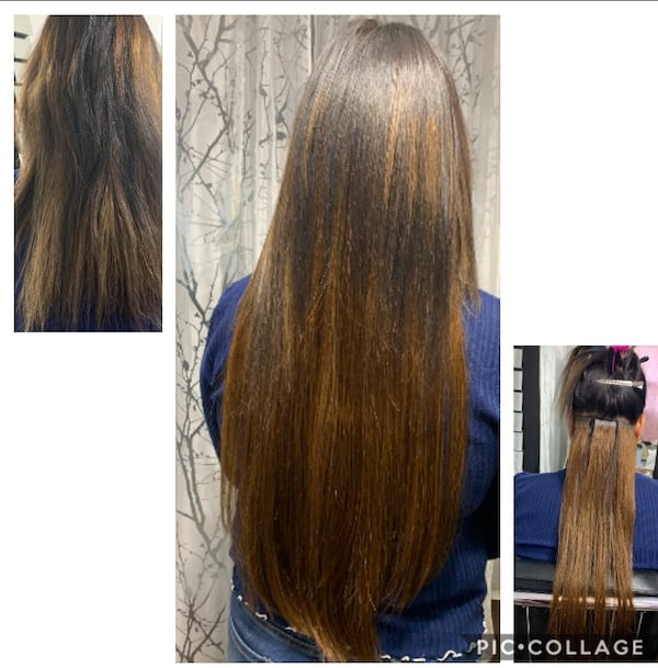 Hair extensions tap in or microbeads and Nail tip and Nano beads ffb045ae-82e8-46f5-a58b-b4d8f34233d3