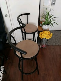 Bar  chairs for 2for $30 Toronto, M4P 1V4