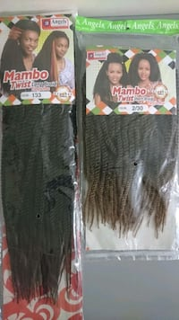 MAMBO TWIST CROCHET BRAIDS  Winnipeg, R3T 2G6