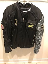 Power Trip  US ARMY tactical motorcycle jacket. Never worn. Orig price 250. Size large  Damascus, 20872