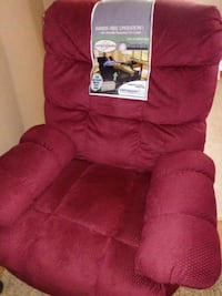 Catnapper Comfor-gel Cushion Red Rocking Recliner Indianapolis, 46218