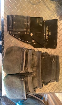 Cadillac leather tool pouches