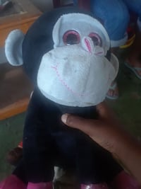 black and white monkey plush toy Tampa, 33614