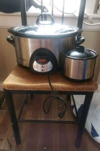 Crock pot slow cooker and little dipper