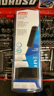 Coleman battery maintainer in package