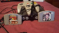 Nintendo 64 (Used)*Negotiable* With Controller, 007 Golden Eye and Pokemon Stadium   Laval