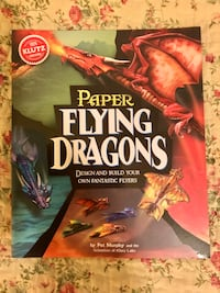 Paper Flying Dragons Book with Templates Edmonton, T6J