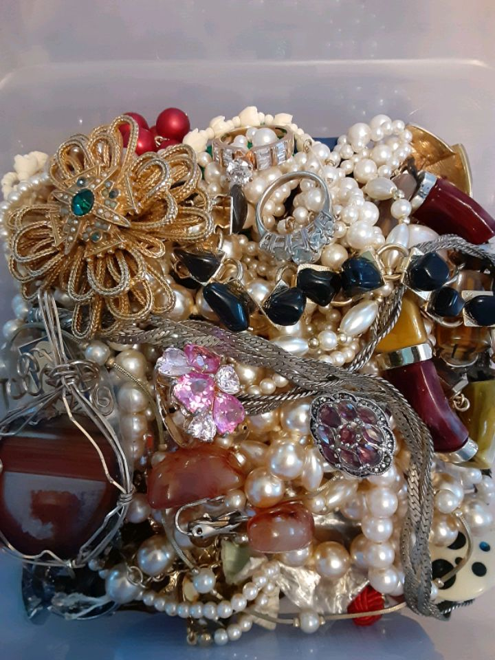 Photo Wanted costume jewelry or real to wear or repurpose