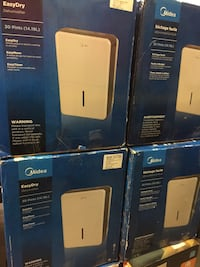 Brand Name All Sizes Dehumidifiers blowout sale From $ [TL_HIDDEN]  No Tax Toronto, M1S 3P8
