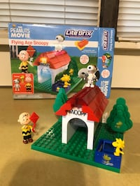 "The Peanuts Movie - Lite Brix ""Flying Ace Snoopy"""