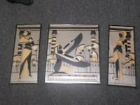 Egyptian mirror set of 3 Ontario, 97914