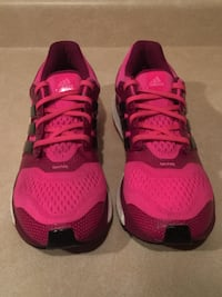 Women's Size 8.5 Adidas Energy Boost 2 TechFit Running Shoes London