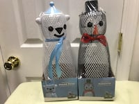 The friendly polar bear and the dapper penguin wild bird feeders new  Lexington Park, 20619