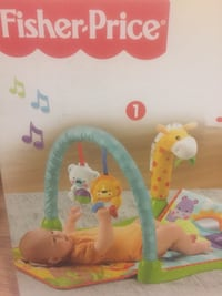 Play Pen Fisher Price Activity Gym  $15