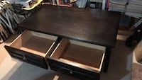 Coffee table with drawers Coquitlam, V3J 7W5