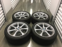 bmw rims with run flat tires size 18