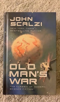 Hardcover book like new Old Mans War by John Scalzi Arlington, 22203
