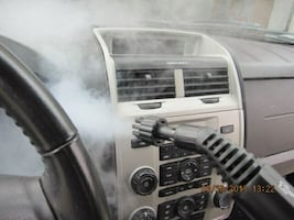 Mobile Car Wash with Interior steam