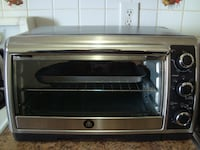 gray and black Oster toaster oven TORONTO
