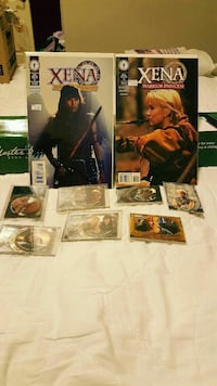 Xena comics & cards Canal Winchester, 43110