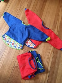 Ikea Kladdig bibs for art or dining.  Great little Christmas present.