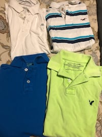 4 men's small brand name polo shirts  Oshawa, L1J 0A5